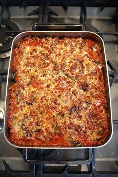 Munakoisovuoka Lasagna, Diet Recipes, Low Carb, Vegetarian, Yummy Food, Ethnic Recipes, Pizza, Life, Cooking