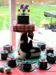 Webkinz Orca Whale Cake