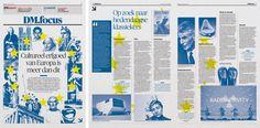 Graphic: Art Direction: Arne Depuydt Assistent Art Direction: Freek De Groote/Joris Van Aken © DeMorgen