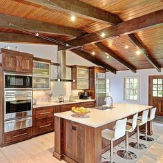 Exposed Ceiling And Track Lighting Design Ideas Pictures