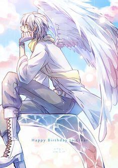 Anime Yaoi Fanart - Lưu Trữ - Dramatical Murder: Clear x Aoba Anime Boys, Tv Anime, Cute Anime Guys, Anime Art, Neko, Anime Angel, Ange Demon, Art Manga, Dramatical Murder