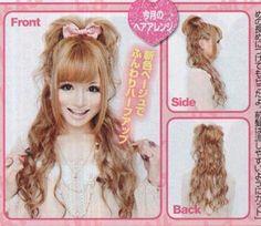 Cute gyaru hair