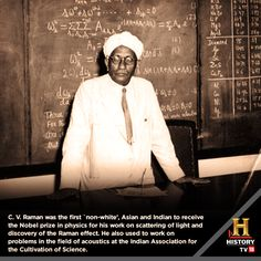#GreatestMinds CV Raman was an Indian physicist who won the Nobel Prize in 1930.