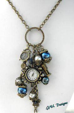 Boho gypsy necklace Gypsy jewelry Bohemian by TreasuresofJewels