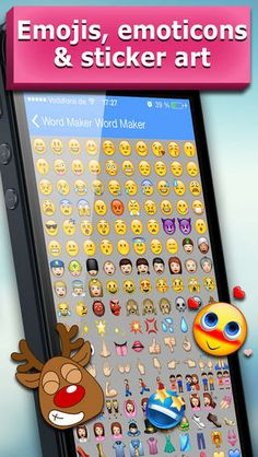 Top iPhone Game #143: Emoji World - Stickers, Emojis and Emoticons for WhatsApp, WeChat, Line, Viber and iMessage - novitap GmbH by novitap GmbH - 05/18/2014