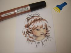 a Lil' Bit of Redrottiness: Hair and Skin colouring tutorial using promarkers