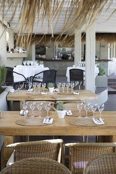El Chiringuito, A stunning Ibiza beach restaurant.