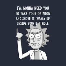 Best Rick And Morty Quotes Beauteous Warning Sad Dump  Pinterest  Cartoon Tvs And Wallpaper