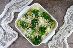 Lekka zapiekanka z brokułami i kurczakiem fit   – Dietetyczne przepisy – Palak Paneer, Avocado Toast, Broccoli, Healthy Recipes, Healthy Food, Dinner, Vegetables, Breakfast, Ethnic Recipes