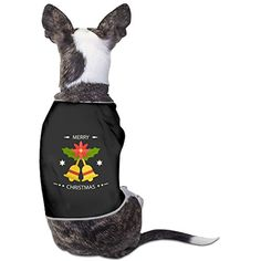 Bell Logo Christmas Custom Pet Puppy Tee Shirts Dogs Costumes Tank Top Vest ** Click on the image for additional details. (This is an affiliate link) #DogApparelAccessories