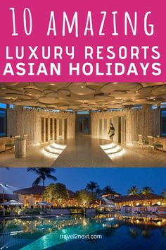 Luxury Hotels and Luxury Resorts for your trip Small Luxury Hotels, Luxury Travel, Elite Hotels, Luxury Escapes, Great Hotel, Hotels And Resorts, Luxury Resorts, Hotel Suites, Luxury Holidays