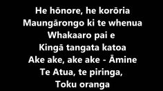 He Honore with lyrics