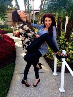 My two favorite youtube beauty gurus: Jaclyn Hill and Nicole G. And they just so happen to be friends!