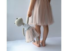 Oboustranná šedorůžová(S) TYLOVÁ sukně