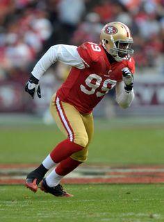 NFL Football T-Shirt SAN FRANCISCO 49ERS Aldon Smith 99 SB Trikot Receiver