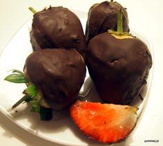 Truskawki w Czekoladzie DIY #strawberries #chocolate #foodporn #diy