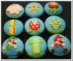 super mario game cupcakes