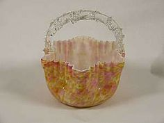 glass baskets collectibles - Google Search