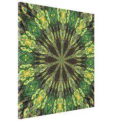 #Peacocks #Feathers #Kaleidoscope 2 Gallery Wrap Canvas...#art  #artwork  #prints  #posters  #RoseSantuciSofranko #Artists4God  #Artist4God  #InteriorDecoration  #InteriorDecorating  #home #InteriorDesign  #Zazzle  #homedecor   #wrappedcanvas  #custom  #customizable #abstacts #birds #animals #mandalas  #golds #greens #yellows