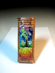 By Artist Julie Holmes - Another Gorgeous & Vividly Colourful Enamelled Pendant (?) by Zenamels via flickr photo sharing <3<3<3<3WOW!!<3<3<3<3