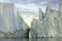 Extreme Ice Survey - James Balog -- 200ft icebergs