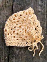 Granny Square Baby Bonnet