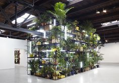 Rashid Johnson: Antoine's Organ (2016) from the exhibit Fly Away at Hauser & Wirth gallery, NYC