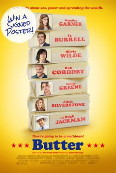 Win a signed Butter poster #giveaway