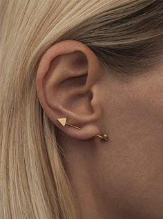 ROBIN earstud by Lulu Badulla