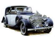 1936 Rolls-Royce Phantom II Convertiable | el rolls royce phantom iii fue el ultimo de los grandes rolls royce de ...