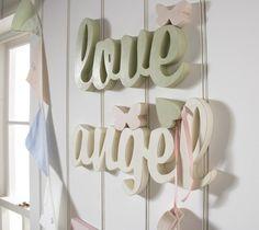 Dear Lyly: Cute wooden words
