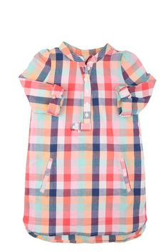 Cute madras shirt dress @ Cotton On Kids