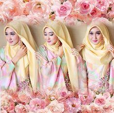 Tutorial Hijab Paris Dian Pelangi untuk Pemula