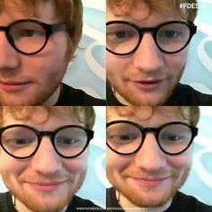 Ed Sheeran!!! ❤❤ and his specs !!
