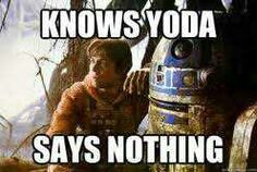 Keeping secrets is what R2 does best.