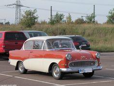 Opel REKORD P1 (1957-1960), aufgenommen in Halle(Saale), Oktober 2014.