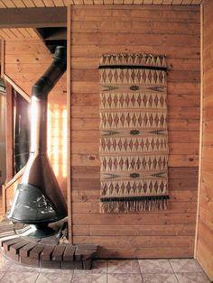 Woven Textile Wall Art. via Etsy.