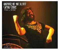 MAGE MUSIC: 1977 John Bonham/Led Zeppelin, Landover (L Hensley photo)