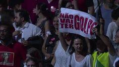 Galdino Saquarema 1ª Página: Não acho o governo fraco diz manifestante