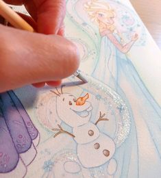 The satisfaction of adding glitter to a print! 😆✨✨Although this looks like Winter, I have a few Halloween 🎃 artworks in progress that I will soon share! Happy October all ! Disney Artwork, Disney Fan Art, Disney Love, Drawing Disney, Disney Drawings, Halloween Artwork, Disney Animated Movies, Happy October, Art Prints For Sale