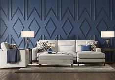 Living Room Sets - Rooms To Go - Adair Park Platinum 3 Pc Sectional Living Room - Sectional Living Room Sets, Living Room Furniture, Living Room Decor, Wooden Furniture, Outdoor Furniture, Style At Home, Accent Wall Designs, Decorative Wall Panels, Rooms Home Decor