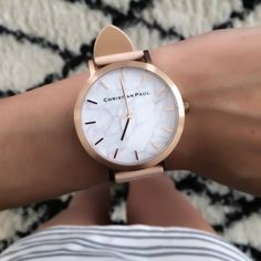 Rose Gold & Peach timepiece by Christian Paul // www.christianpaul.com.au