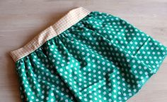 Tutorial falda con bolsillos, para mamas y niñas!