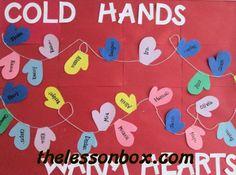 winter bulletin boards   The Lesson Box   Teachers Tools Channel   Winter Bulletin Boards
