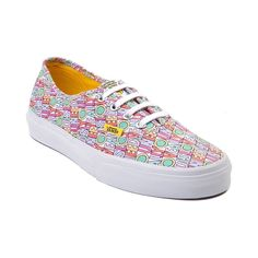 Shop for Vans Authentic Beatles All You Need Skate Shoe in White at Journeys Shoes. Shop today for the hottest brands in mens shoes and womens shoes at Journeys.com.Keep your skate style simple, classic, and profound with this Beatles edition Vans Authentic! Features allover All You Need Is Love text graphics in a vintage fade coloration of purple, yellow, and green. Lace closure with metal eyelets and vulcanized rubber sole with waffle tread. Available for shipment in March; pre-order yours…