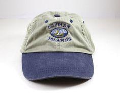 Cayman Islands Floppy Dad Hat // Baseball Cap by LoveBuzzCo $16