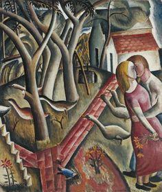 David Jones, 'The Garden Enclosed' 1924