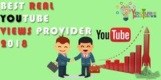 BEST REAL YOUTUBE VIEWS PROVIDER 2018 – Buy the best real and organic not fake but genuine YouTube views from Youtubebulkviews.com.