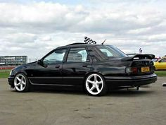 Ford: Ford Sierra Sapphire RS Cosworth What my Garage would look like if I was A billionaire Ford Orion, Ford Rs, Car Ford, Ford Classic Cars, Best Classic Cars, Ford Verona, Ford Motorsport, Ford Sierra, Cars Uk