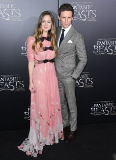 The latest film from the mind of the Harry Potter author, J.K. Rowling, celebrated its world premiere.